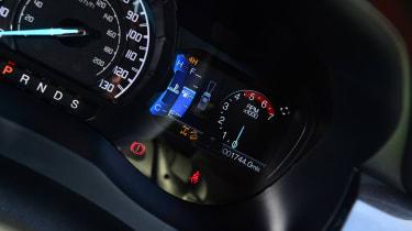 Ford Ranger Thunder - dial cluster