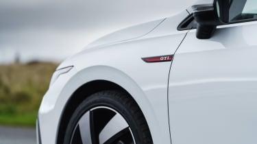 Volkswagen Golf GTI hatchback front badges
