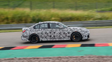 2020 BMW M3 saloon prototype - passing dynamic shot