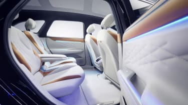 Volkswagen ID. Space Vizzion concept rear seats