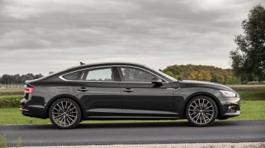 Arguably the five door Sportback is a better looking car than the two-door coupe