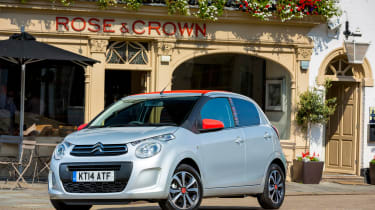 The C1 sits between the bold Aygo and conservative 108 in terms of styling