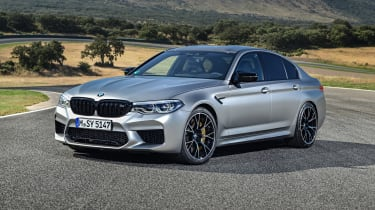 BMW M5 Competition - front 3/4 static