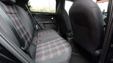 Volkswagen up! GTI hatchback rear seats