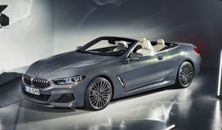 2019 BMW 8 Series Convertible front