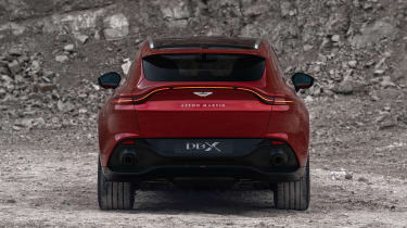 Aston Martin DBX - rear view