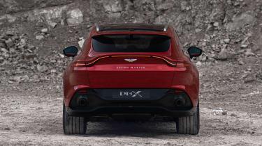 Aston Martin DBX - rear view
