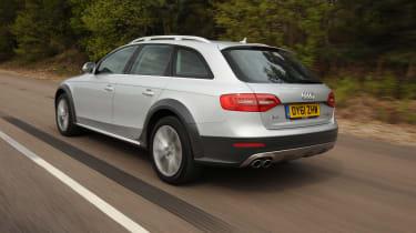 Audi A4 Allroad - Rear 3/4 dynamic