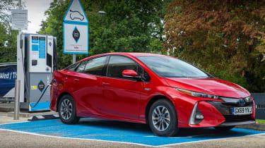Toyota Prius Plug-in Hybrid hatchback charging