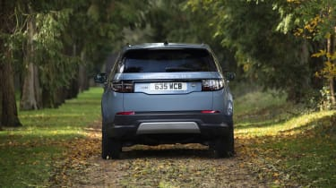 Land Rover Discovery Sport plug-in hybrid - rear view