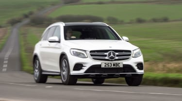 The Mercedes GLC is the SUV equivalent of the Mercedes C-Class and the two cars share a multitude of mechanical components