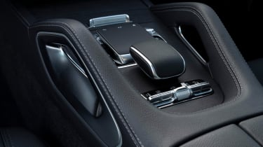 Mercedes GLE Coupe SUV gearlever