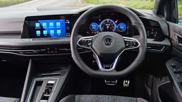 Volkswagen Golf GTE hatchback interior
