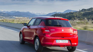 Every version of the Swift is quite nippy, and the 1.0-litre Boosterjet takes just over 10 seconds to get from 0-62mph