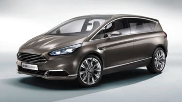 Ford S-MAX 2015 front quarter static