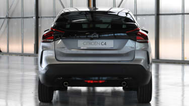 2021 Citroen C4 - rear view