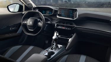 New Peugeot 2008 - interior angled