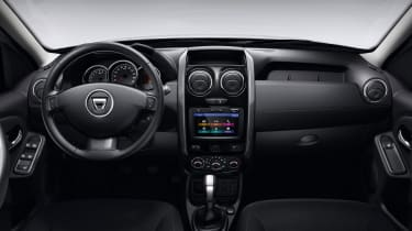 The interior is a little basic, but it's justified by that low price tag