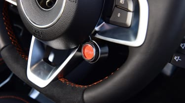 Alpine A110S steering wheel buttons