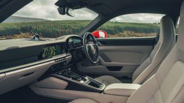 Porsche 911 coupe interior