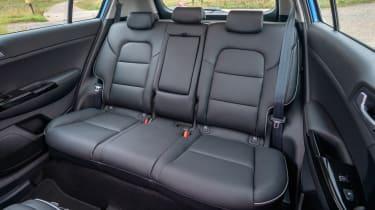 Kia Sportage SUV rear seats