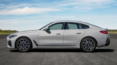 New BMW 4 Series Gran Coupe - side static