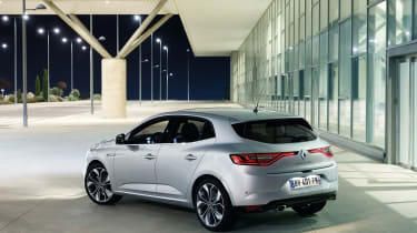 The new Megane is available in six different trims called Expression+, Dynamique Nav, Dynamique S Nav, Signature Nav, GT-Line