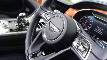 Bentley Continental GT steering wheel buttons