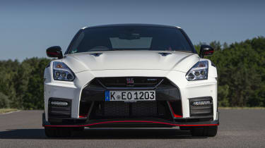Nissan GT-R Nismo coupe nose