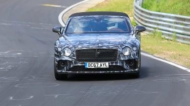 Bentley Continental GTC front spy shot