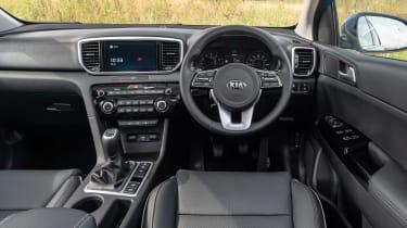 Kia Sportage SUV interior