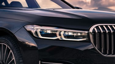 BMW 7 Series saloon - front close up