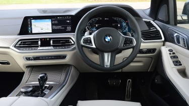 BMW X5 xDrive45e SUV interior