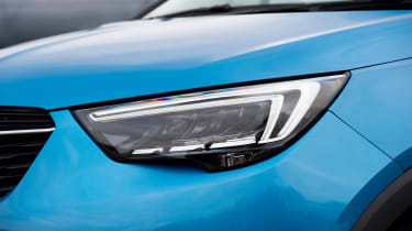 LED headlights are an optional extra, costing about £700