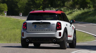 2020 MINI Countryman John Cooper Works cornering - rear view