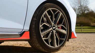 Hyundai i20 N hatchback alloy wheels