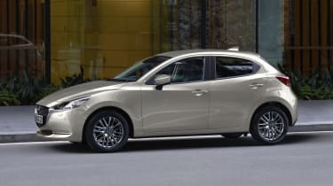 Mazda2 - Platinum Quartz Metallic side static