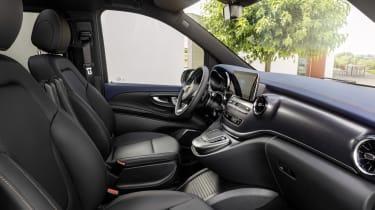 Mercedes EQV - interior side view