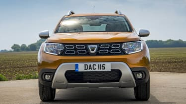 2018 Dacia Duster front