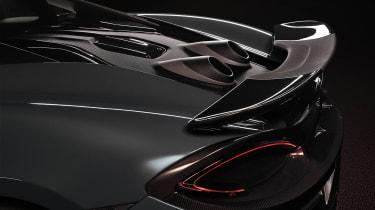 McLaren 600LT spoiler and exhausts
