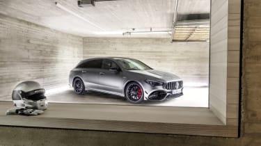 2019 Mercedes-AMG CLA 45 S Shooting Brake - 3/4 static view