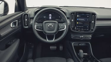 Volvo XC40 Recharge P8 SUV interior