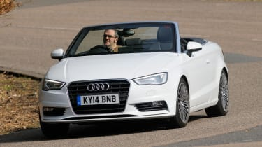 Audi A3 Cabriolet - Carbuyer Best Convertible