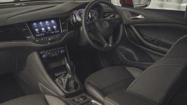 Vauxhall Astra hatchback dashboard