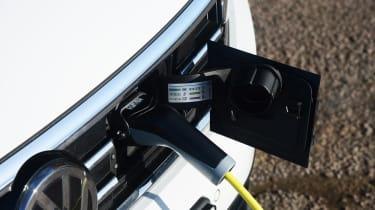 Volkswagen Passat GTE Estate charging port