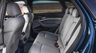Audi e-tron SUV rear seats