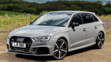 Audi RS3 front 3/4 static