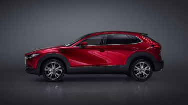 Mazda CX-30 SUV - Geneva - side view