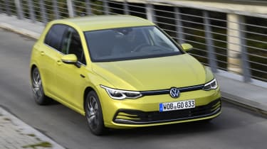 2020 Volkswagen Golf - front 3/4 dynamic