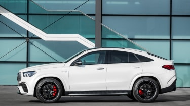 2020 Mercedes-AMG GLE 63 S Coupe side